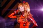 Evangelion. Asuka cosplay