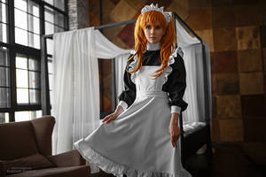 Asuka maid. Alternative home VI by TaisiaFlyagina