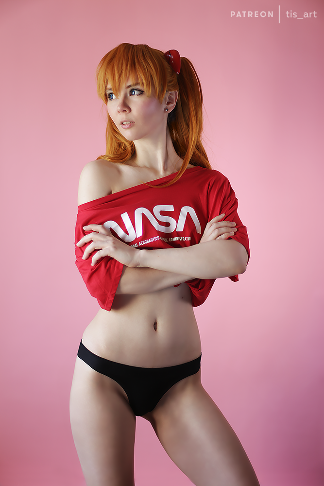 Asuka Langley casual by TaisiaFlyagina