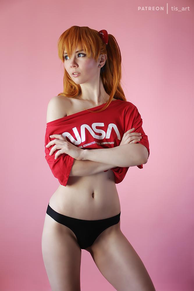 Asuka Langley casual by TaisiaFlyagina