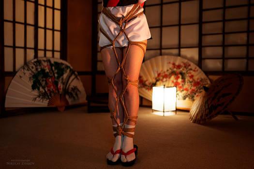 Rey Ayanami. Shibari shooting V