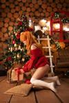 Asuka Langley, Christmas time by TaisiaFlyagina
