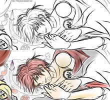 Sexy Danna Sketch by LittleKumiko