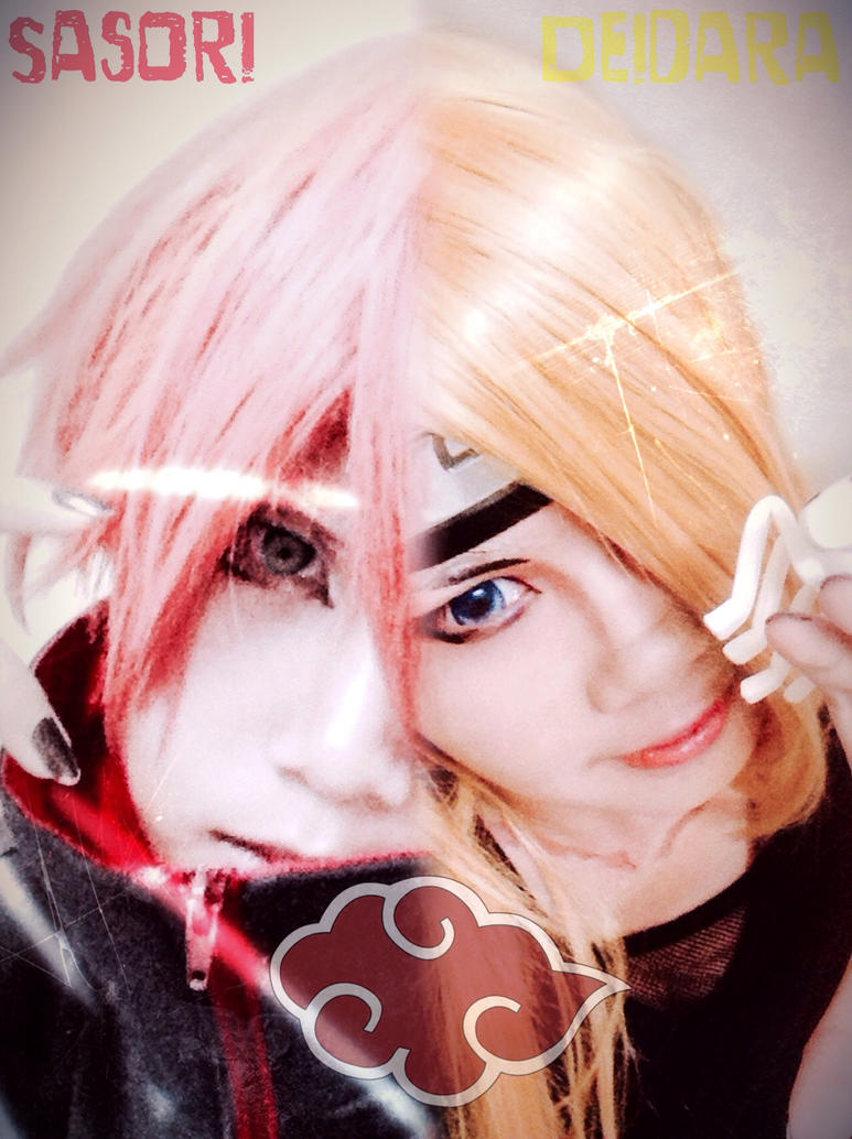 Sasori Deidara Cosplay by LittleKumiko