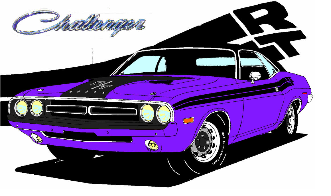 Dodge Challenger 1971 Wallpaper 1971 Dodge Challenger by