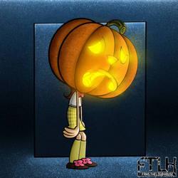 Luan Loud, the pumpkin head.
