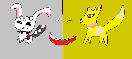 Bateye and me friend icons!! by SnowpawsAJ