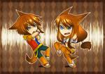 Chibi Shinya Twins