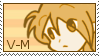 V-M stamp by Vicky-Mionelei
