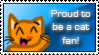 Proud Cat Fan Stamp by ami2414