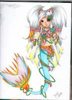 mermaid2 -topmodel- by Aichochan