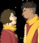 Jinora and Kai older