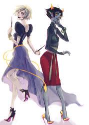 rose and kanaya by marika