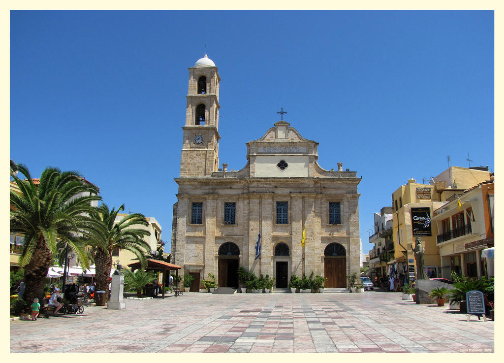 Church in Chania by Pajunen