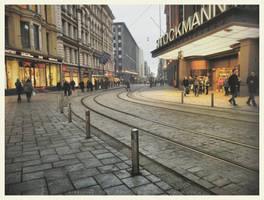 Helsinki City Life by Pajunen