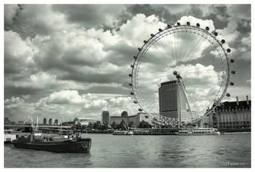 London Eye by Pajunen
