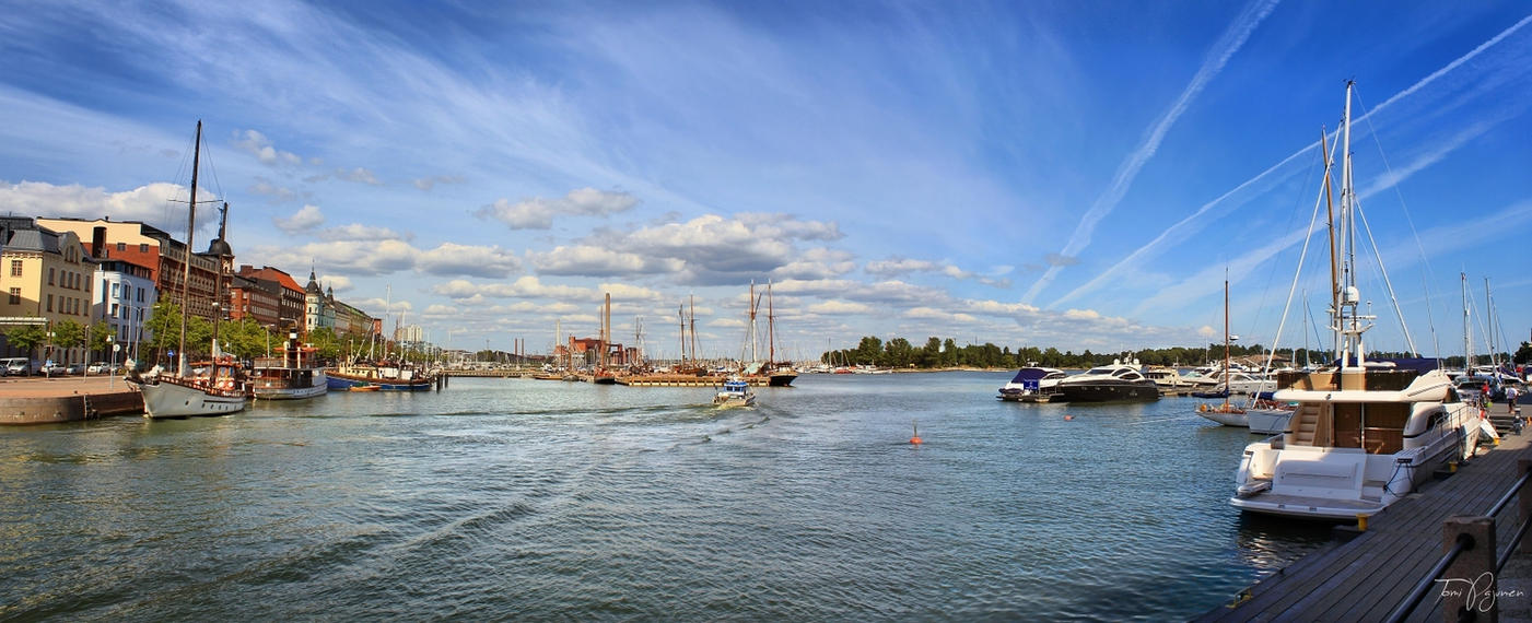 Boat Harbour, Helsinki by Pajunen
