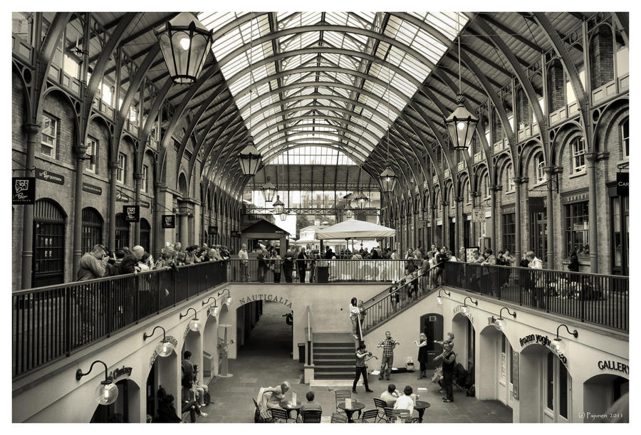 Covent Garden by Pajunen