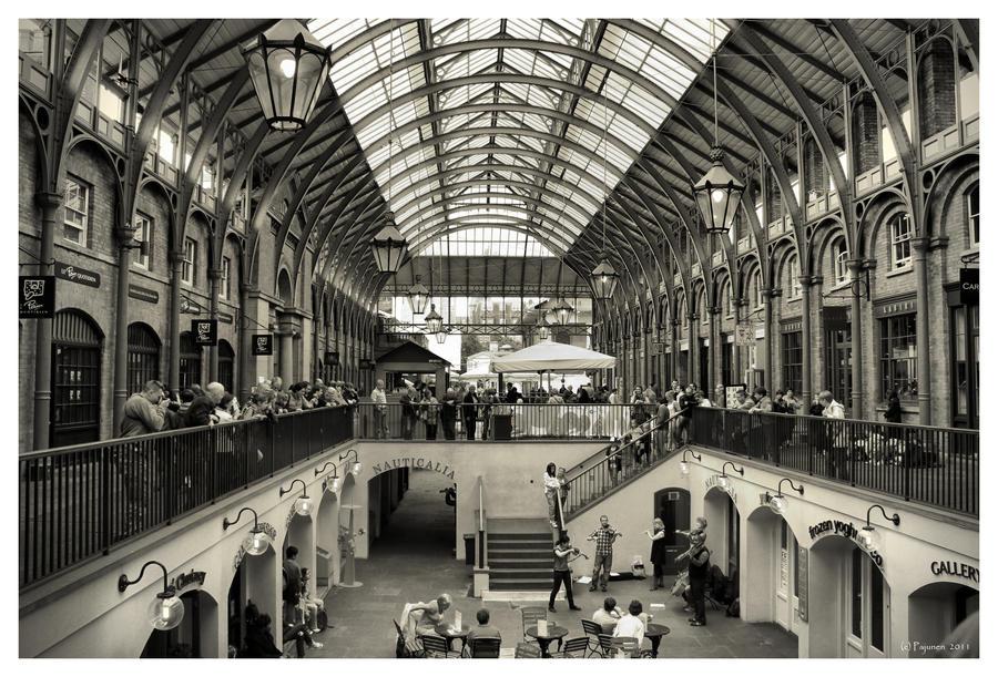 Covent Garden by Pajunen