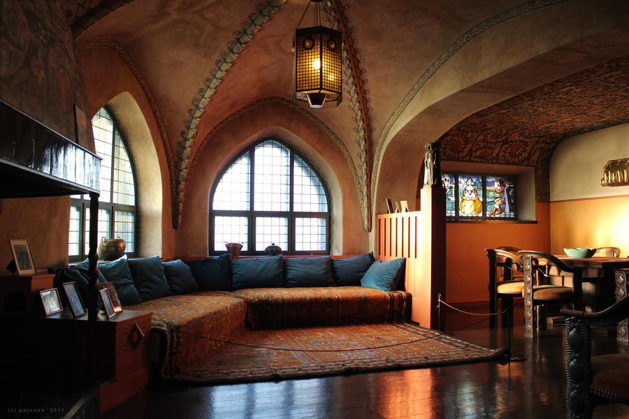 Villa Hvittrask Interior by Pajunen