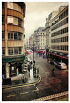London Streets by Pajunen