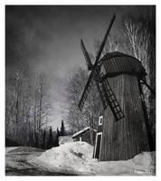 Windmill by Pajunen