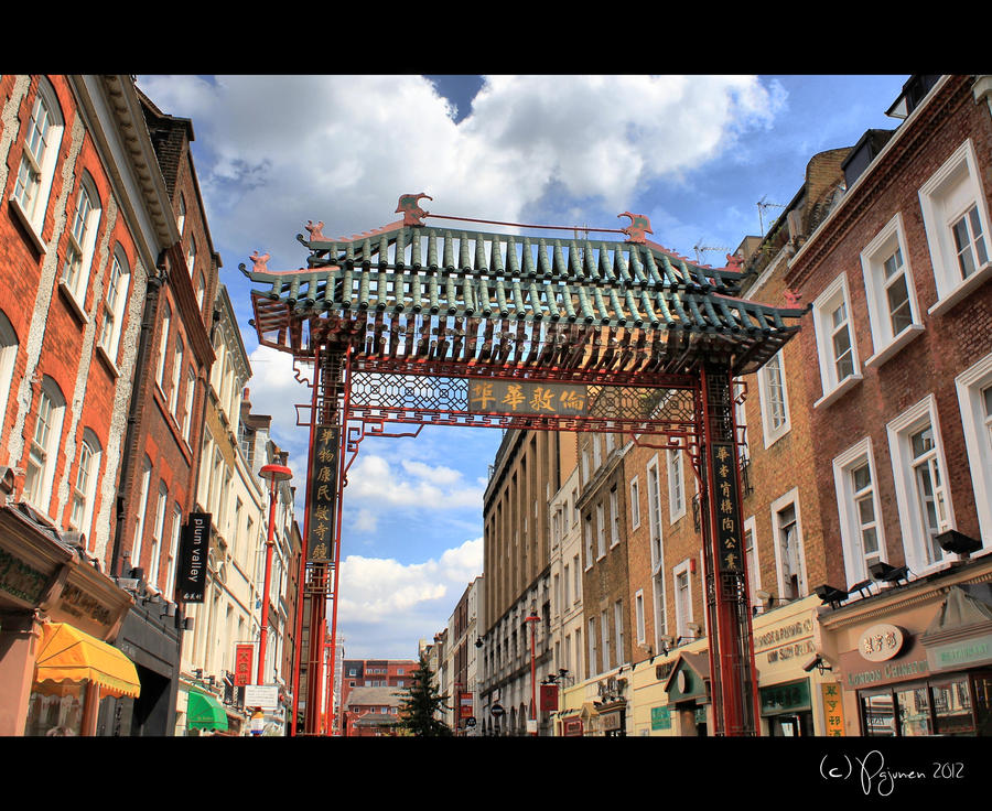 Entering Chinatown by Pajunen