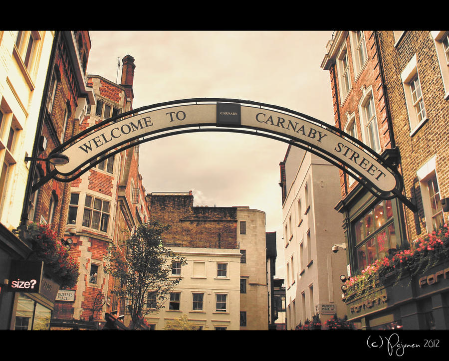 Carnaby Street by Pajunen