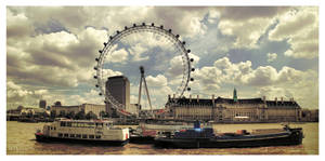 A summer day in London