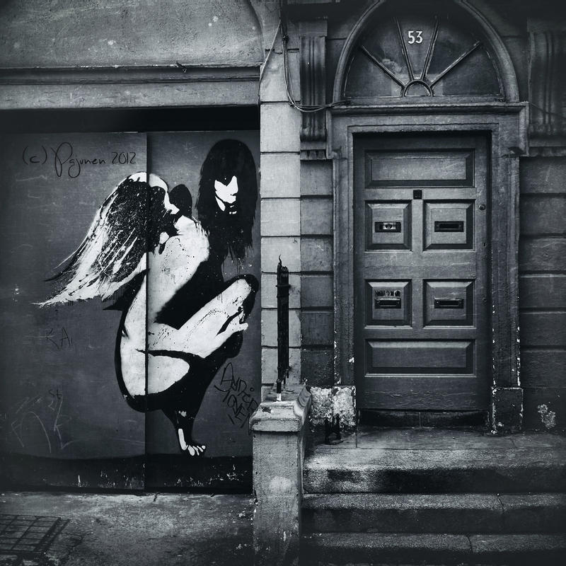 Angels can't come back home... by Pajunen