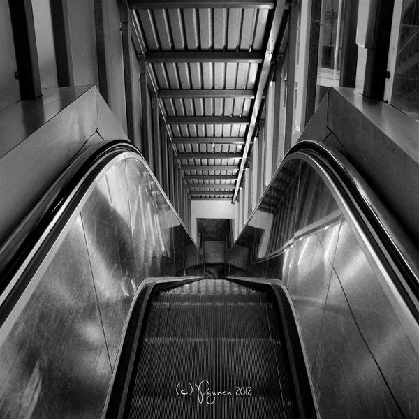 Escalator by Pajunen