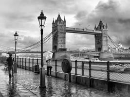 They met in rainy London