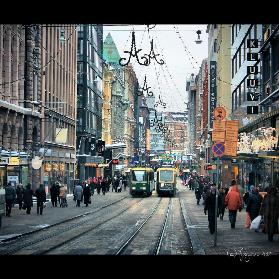 December 2012 in Helsinki by Pajunen