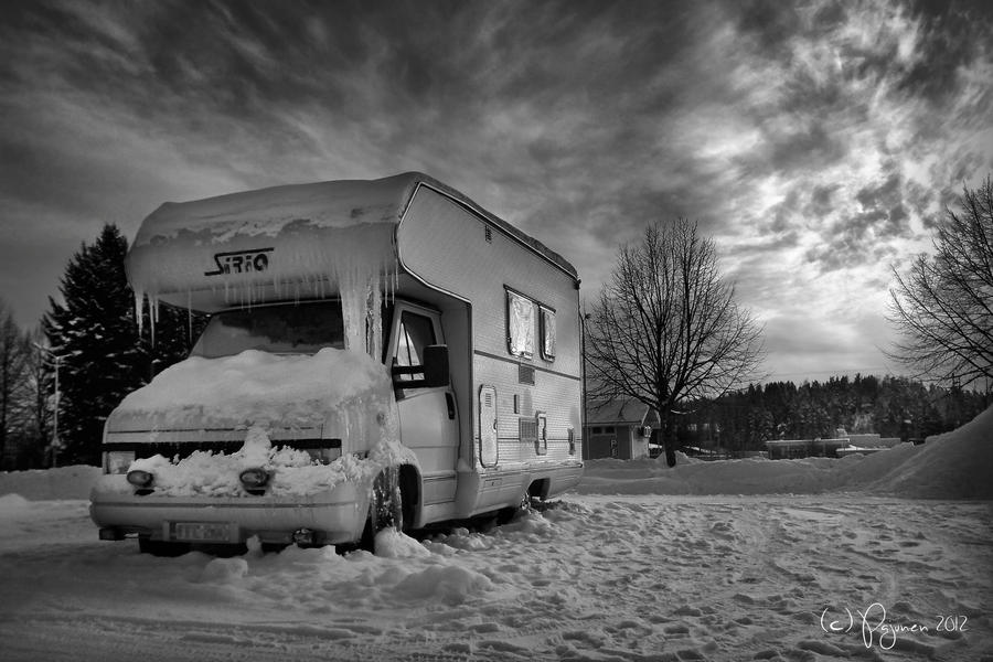 Winter Journey by Pajunen