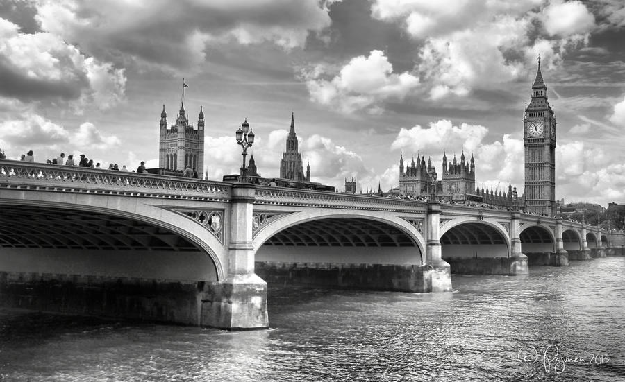 Westminster Bridge by Pajunen