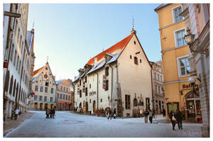 Tallinn Old Town by Pajunen