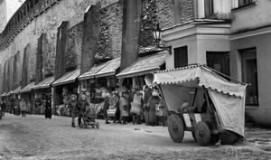 Street life in Tallinn