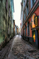 Lonely alleys by Pajunen