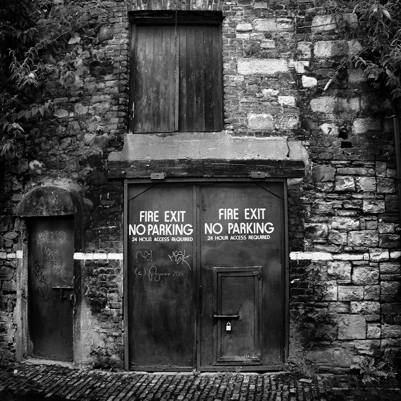 Fire exit by Pajunen
