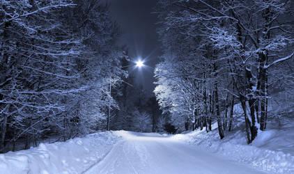 February Night by Pajunen
