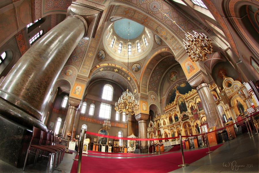 Uspenski Cathedral interior by Pajunen