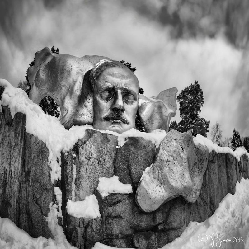 Jean Sibelius by Pajunen