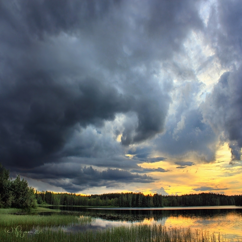 Before the storm by Pajunen