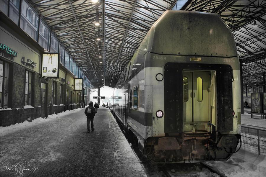 Departure by Pajunen