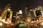 Night walk in Tokyo
