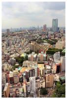 Tokyo views by Pajunen