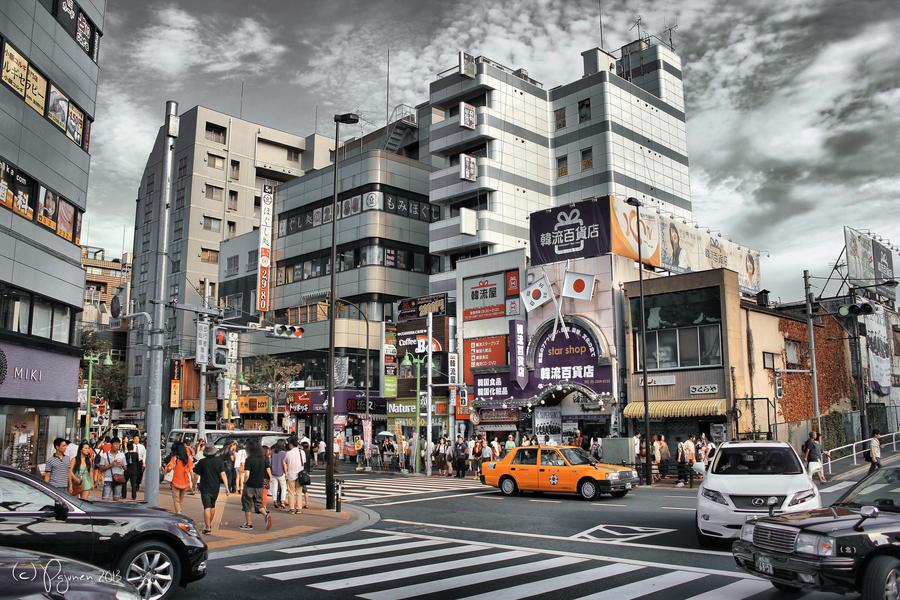 Korean Town by Pajunen