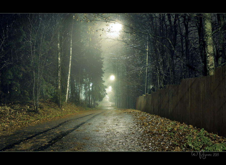 October Rain by Pajunen