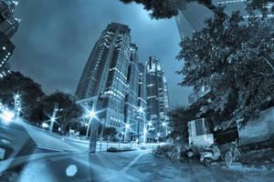 Tokyo Night Streets by Pajunen