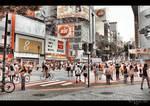 Shibuya Street Life